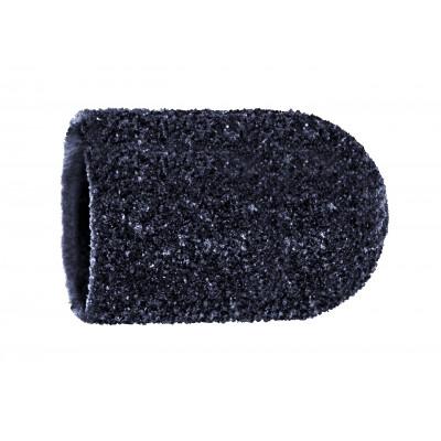 Capuchons abrasifs x10 0904 - Diamant - Grain super gros - Abrasion des cors, durillons et hyperkératoses - 16 mm