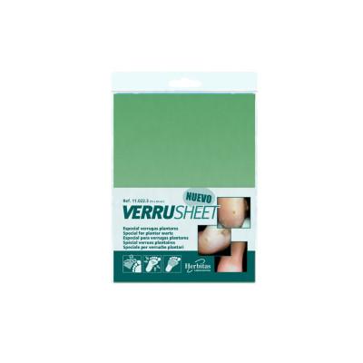 Verrusheet - Plaque de bandage adhésif - 15 cm x 20 cm