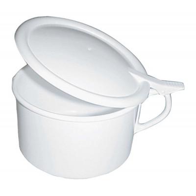 Crachoir Plastique Blanc