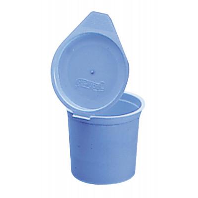 Crachoir 14cl Couvercle Bleu Ciel