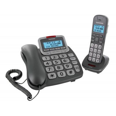 Telephone Duo Fil+Repondeur Telefun Tf652