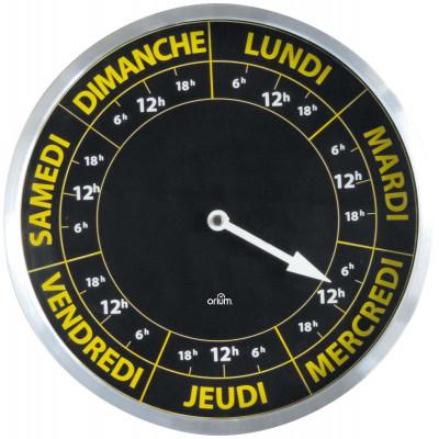 Horloge Contraste Hebdomadaire