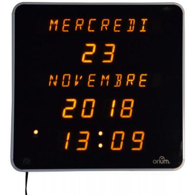 Horloge Ephemeris Jaune Dst