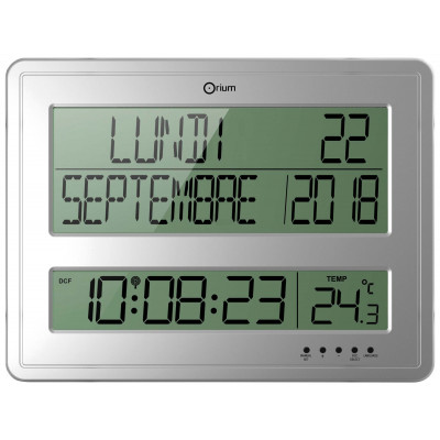 Horloge Digitale Calendrier Rc