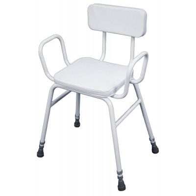 Chaise Haute Incline de Travail Blanche