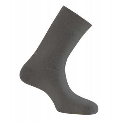 Mi-Chaussette Double Peau  Taille 35-37 Anthracite