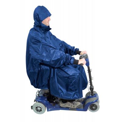 Poncho Scooter Bleu