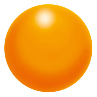 Balle Musculation Mousse 50mm Orange