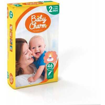 Baby Charm Super Dry Flex Mini 3 sachets de 46