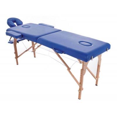 Table Pliante Bois Eco Bleu 182X60cm