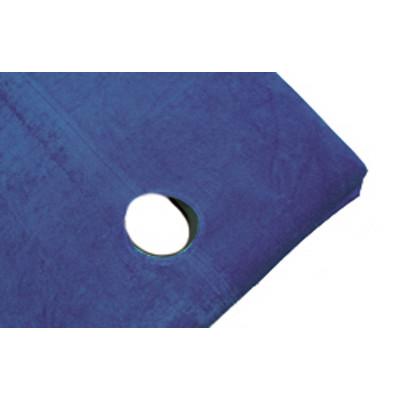 Housse Eponge Table Trou Visage Bleu Baltique
