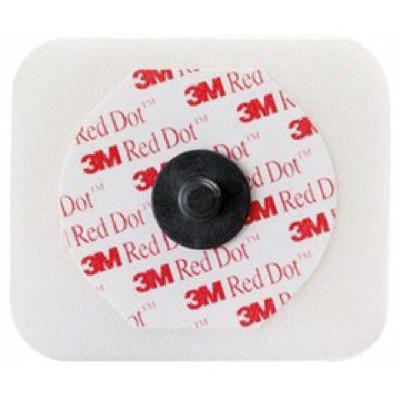 Electrode 3M RED DOT 4X3,5cm Soin Intensif
