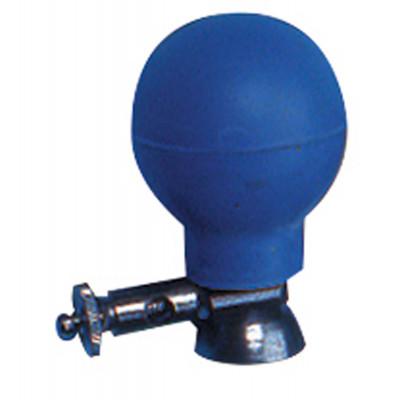 Electrode Poire Coupelle Métal 15mm