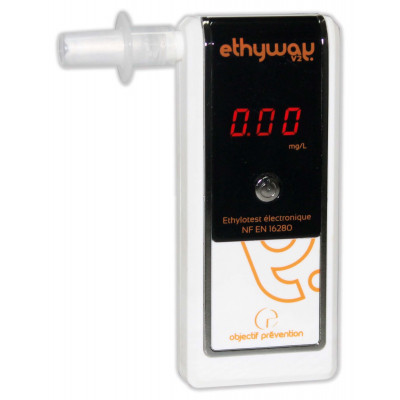 Ethylotest Electronique Ethyway V2 Nf
