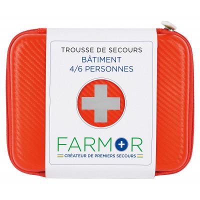 Trousse Secours Batiment 4/6 Personnes