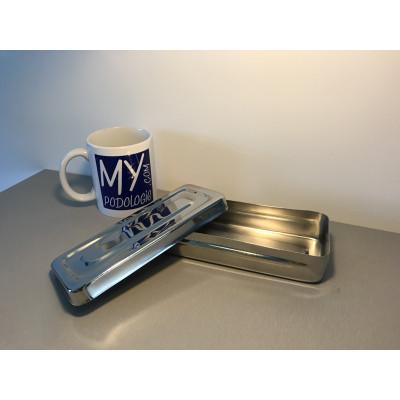 Boîte de stérilisation pour instruments inox