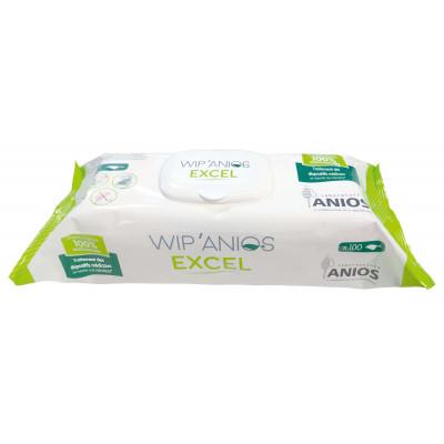 WIP'ANIOS Excel Boîte de 50 Lingettes