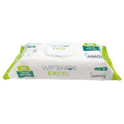WIP'ANIOS Excel Boîte de 100 Lingettes