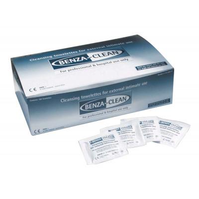 BENZA CLEAN - Lingette Nettoyant  Boîte de 100 Lingettes