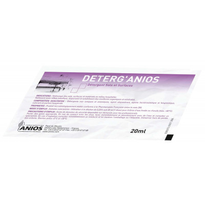 DETERG'ANIOS 20 ml 500 Doses