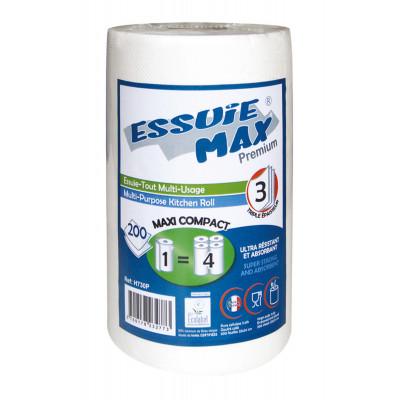 Essuie-tout 200F 22X24cm 3 Plis Essuie Max