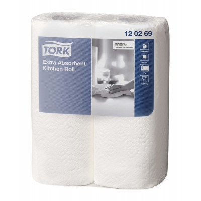 TORK Essuie-tout 64F Extra Absorbant