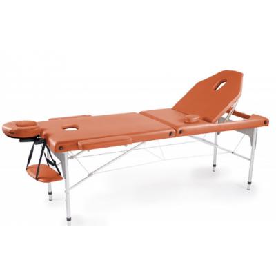 Table de massage pliante en aluminium Orange 186x66 cm