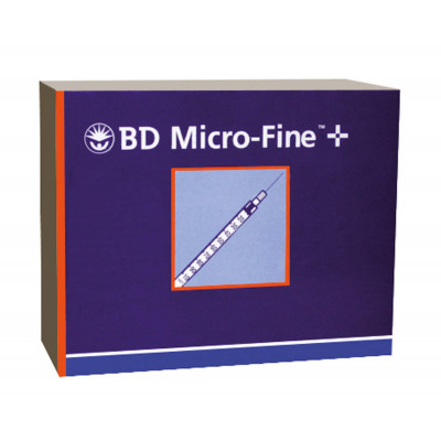 Seringue MICRO-FINE 0,3ml 8X0,30mm Insuline