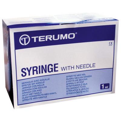 Seringue TERUMO Tuberculine 1ml sans aiguille