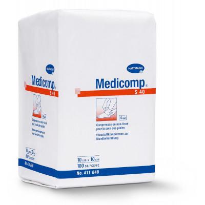 Compresse Non Tissée Non Stérile MEDICOMP 30gr 7,5X7,5cm