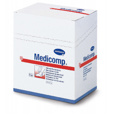 Compresse Non Tissée Stérile MEDICOMP 30Gr 7,5X7,5cm X5