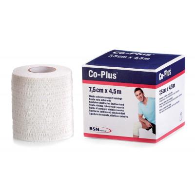Bande CO-PLUS 2,5cmx4,5m Blanc Etirée