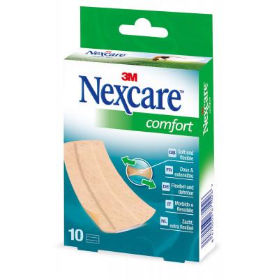Pansement NEXCARE Comfort 6X10cm 10 Bande