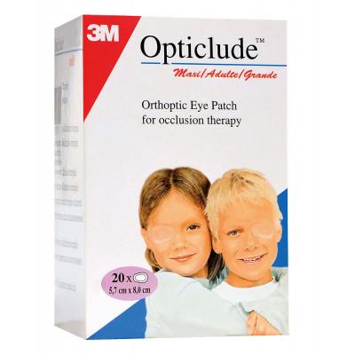 Pansement OPTICLUDE Junior Microporeux