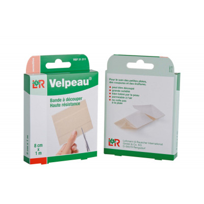 Pansement VELPEAU 1mx6cm Multi-Extensible