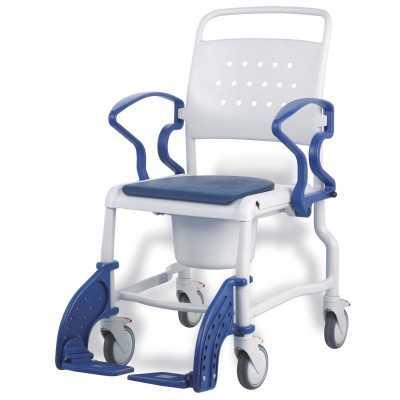 Chaise Douche BONN Gris Bleu