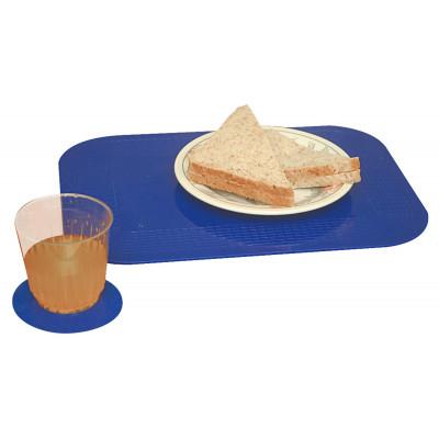 Set Table Dycem 35X25cm Bleu
