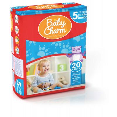 Baby Charm Super Dry Pants Junior 4 sachets de 20