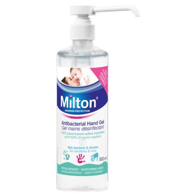 Gel Désinfectant MILTON 500ml + Pompe