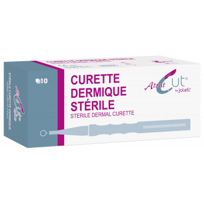 Curette Dermato ATOUTCUT JOLETI  à Usage Unique 4mm