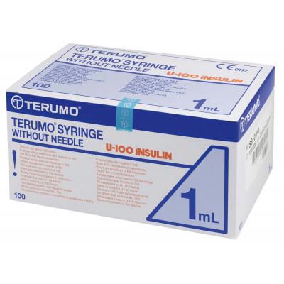 Seringue TERUMO Insuline 1ml 100U avec aiguille 12X0,45mm