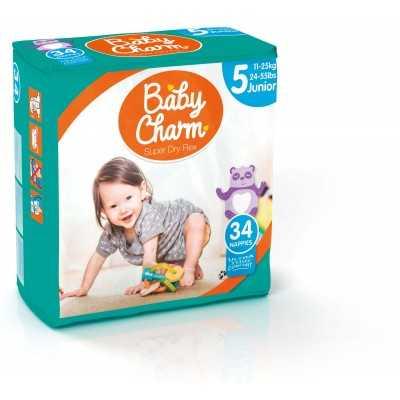 Baby Charm Super Dry Flex Maxi 5 sachets de 37