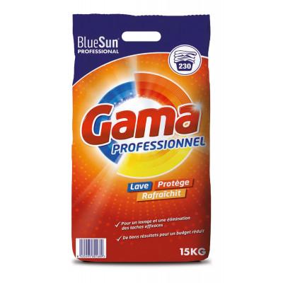 GAMA Lessive Pro Poudre 15Kg