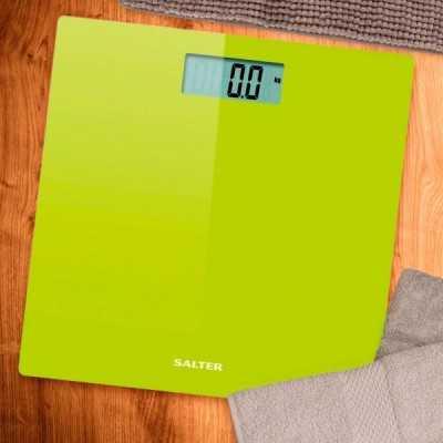 Pèse Personne Electroniquet Salter Vert