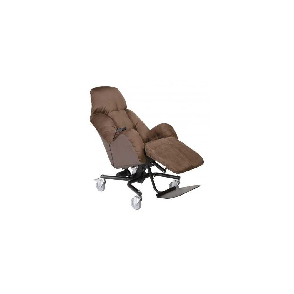 Fauteuil A Pousser LIBERTY E Taille 10 Choco