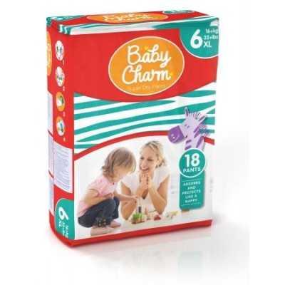 Baby Charm Super Dry Pants Taille XL 4 sachets de 18