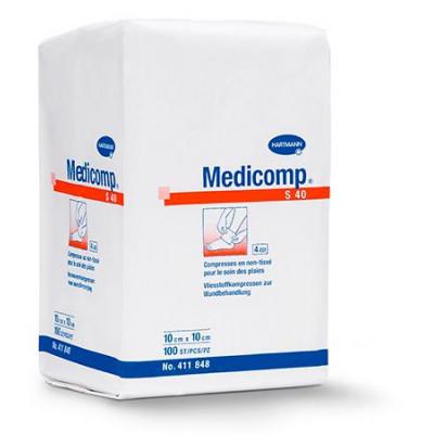 Compresse Non Tissée Non Stérile MEDICOMP 40gr 5X5cm