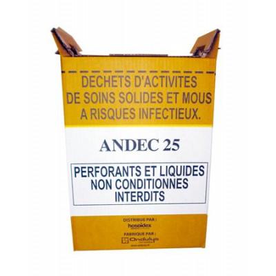 Conteneur Fût Carton 25L