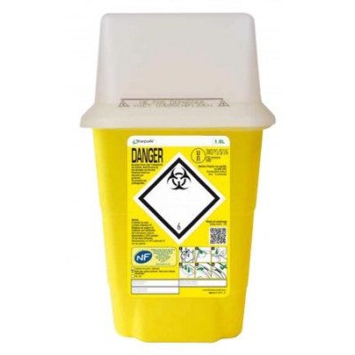 Collecteur Dechet SHARPSAFE 1,8L