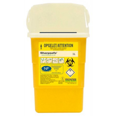 Collecteur Dechet SHARPSAFE 1L